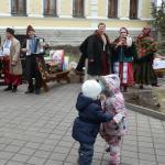 Масленица в Сковородиновке - юные танцоры