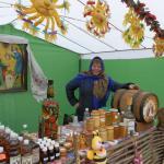 Масленица в Сковородиновке - торговля с улыбкой