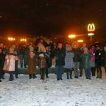Романтичный Харьков памятник Влюбленным