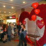Сердце из живых роз рекорд Украины в Харькове